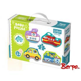 Trefl Puzzle Baby Pojazdy transportowe 36075