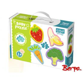Trefl Puzzle Baby Owoce i warzywa 36076