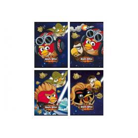 Unipap Angry Birds SW Zeszyt 16k A5 kratka 290381