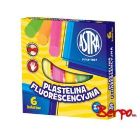 Astra plastelina fluorescencyjna 6 kol. 83811906