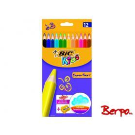 BIC Kids Kredki Super Soft 415386