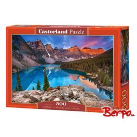 Castorland 053001 Puzzle Sunrise at Moraine lake