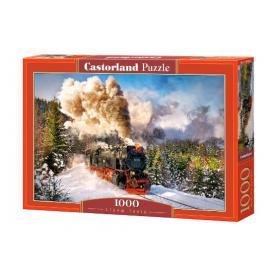 Castorland 103409 Puzzle Steam Train