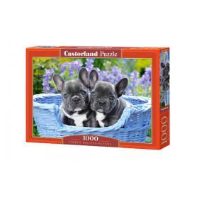 Castorland 104246 French Bulldog Puppies