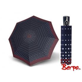 Parasol DOPPLER Fiber Magic Pearl granatowy w kropki 7441465PE03