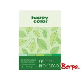GDD Blok Deco green A4 004889