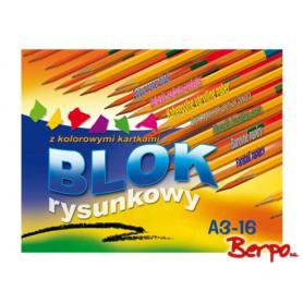 Kreska blok rysunkowy kolorowy A3 400973