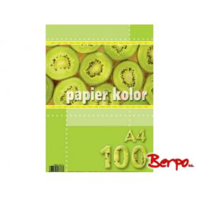 Kreska Papier kolorowy A4 zółty 801176
