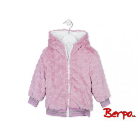 LOSAN Kurtka różowe futro rozmiar 2 344066