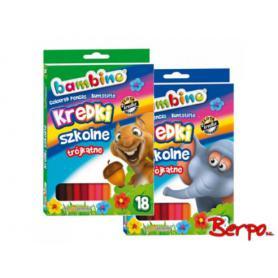 Majewski 002670 Kredki Bambino 18 kolorów