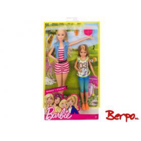 MATTEL DWJ64 Barbie & Stacie wycieczka