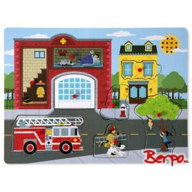 Melissa & Doug 10736 Puzzle Grający Straż Pożarna