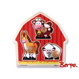 Melissa & Doug 12054 Puzzle farma