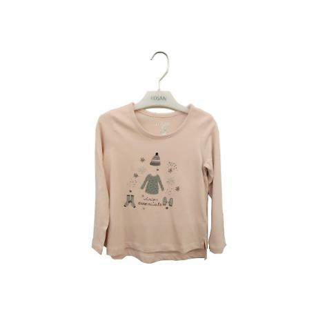 LOSAN 187166 Koszulka dziewczęca rozmiar 2
