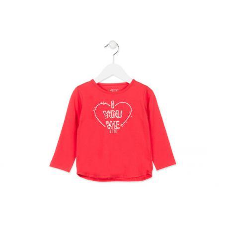 LOSAN 188125 T-Shirt dziewczęcy rozmiar 2