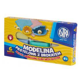 ASTRA Modelina 6 kolorów pastelowa 304118001