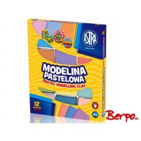 ASTRA Modelina 12 kolorów pastelowa 304118007