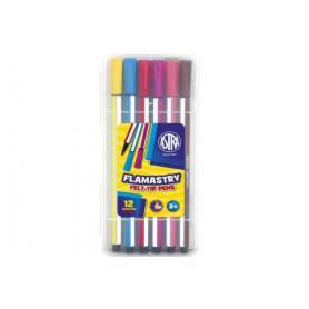 ASTRA flamastry 12 kolorów 314115001