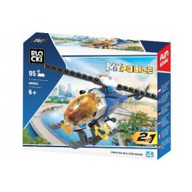 BLOCKI KB0655 MyPolice Helikopter policyjny 2w1