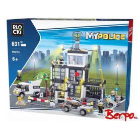BLOCKI KB6725 MyPolice Duży komisariat