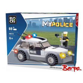 BLOCKI KB6731 MyPolice Auto z radarem