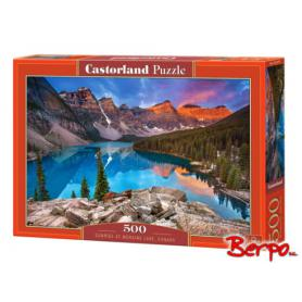 Castorland 053001 Puzzle Sunrise at Moraine lake