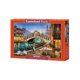 Castorland 200689 Puzzle Grand Canal Bistro