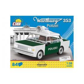 COBI 24558 Wartburg 353 Policyjny