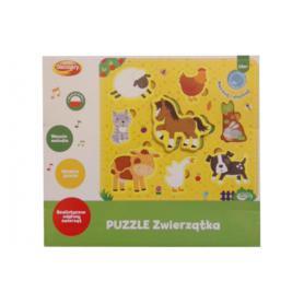 DUMEL 10304 Puzzle zwierzątka