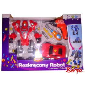 DUMEL 369875 Rozkręcony Robot czerwony