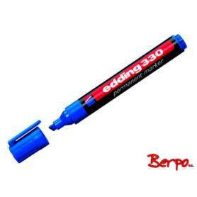 Edding marker ścięty niebieski 390816