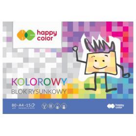 GDD Blok rysunkowy kolorowy A4 106620