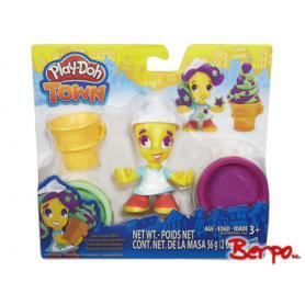 HASBRO Play-Doh Town Sprzedawczyni lodów B5978