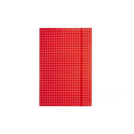 KONFEX Teczka A4 czerwona 070075