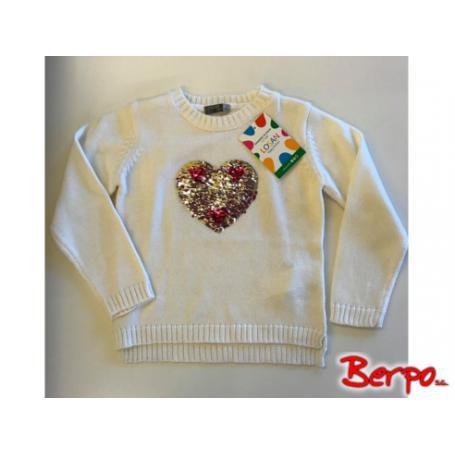 LOSAN 100318 Sweter dziewczęcy rozmiar 4