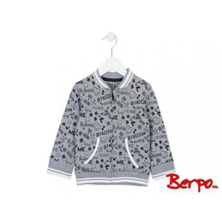 LOSAN Szara bluza z napisami rozmiar 4 380903