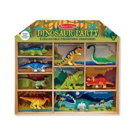 Melissa & Doug 12666 Zestaw domek z dinozaurami