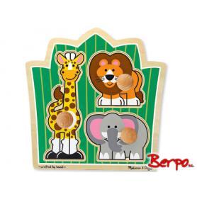 Melissa & Doug 13375 Puzzle przyjaciele z dżungli