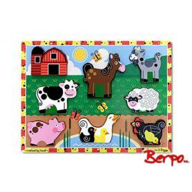 Melissa & Doug 13723 Puzzle farma