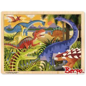Melissa & Doug 19066 Puzzle Dinozaury