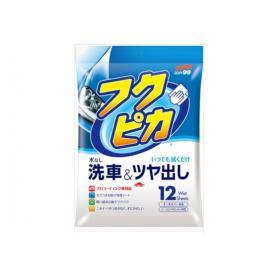 12 CHUSTECZEK WOSK KAROSERIA NEW SOFT99 Washing & Waxing wipes 00468