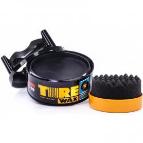 WOSK TWARDY OPONY ZDERZAKI SOFT99 Tire black wax 02015