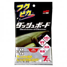 ŚCIERECZKI OCHRONA PRZED UV SOFT99 Dashboard cleaning Wipes 02092