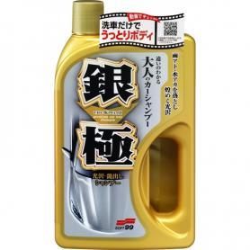 SZAMPON DO KAROSERII + GĄBKA SOFT99 Extreme gloss Shampoo Silver 04291
