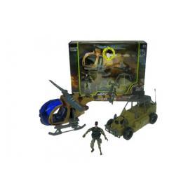 Hipo 025262 Pojazdy wojskowe helikopter i wóz