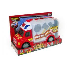 Hipo 019735 Wóz strażacki z akcesoriami