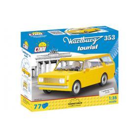 COBI 24543A Wartburg 353 Tourist żółty