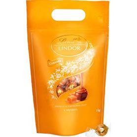 LINDT 901560 Lindor Pralinki karmelowe 1kg