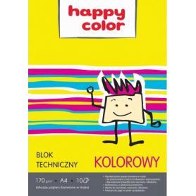 GDD Blok techniczny kolorowy A4 106439