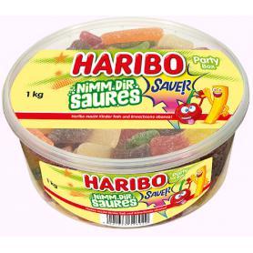 Haribo 346020 żelki Party Box 1kg kwaśne